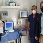 El Municipio de Merlo hizo entrega de más equipamiento contra la pandemia al Hospital Materno Infantil de Pontevedra