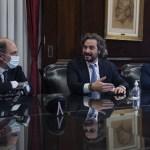 Santiago Cafiero encabezó la firma de un acuerdo por igualdad de cupo laboral en el Banco Nación