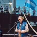 """Ministro Rossi: """"las Fuerzas Armadas argentinas podrán revertir la curva de desinversión que han tenido durante muchos años"""""""
