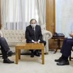 """Ministro Wado De Pedro: """"coincidimos con Alfonsín en que el decreto del Presidente reparó una injusticia de Macri"""""""
