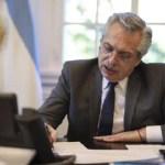 """El Presidente Fernández le envió una carta a Trump para desearle una """"pronta y feliz recuperación"""""""