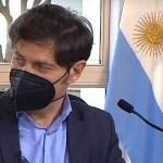"""Gobernador Kicillof: """"con las medidas para enfrentar el coronavirus se evitó una catástrofe"""""""
