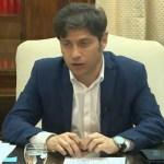 """Gobernador Kicillof con intendentes: """"la obra pública es central para poner en movimiento la economía"""""""