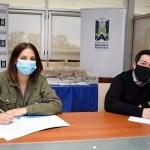 Leo Nardini firmó convenios que promueven la soberanía alimentaria y la inclusión social
