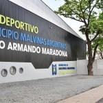 """Propuesto por Leo Nardini el polideportivo de Ing. Pablo Nogués se llama desde hoy """"Diego Armando Maradona"""""""