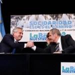 """Presidente Fernández: """"esta vez los acreedores son los que están pagando el ajuste, no la gente"""""""