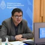 """Ministro Moroni: """"se prorroga la prohibición de despidos y la doble indemnización"""""""