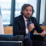 """Santiago Cafiero sostuvo que """"el gobierno apunta a fortalecer la industria nacional y el consumo"""""""