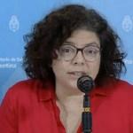 "Viceministra Carla Vizzotti: ""la vacuna Sputnik V muestra una eficacia que genera optimismo"""
