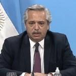 """El presidente Fernández volvió a reclamar """"responsabilidad social"""" y advirtió: """"existe el riesgo de que todo vuelva a paralizarse"""""""