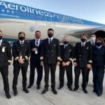 Un nuevo vuelo de Aerolíneas Argentinas partió este jueves rumbo a Moscú para traer 300.000 segunda dosis de la Sputnik V