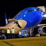 Ya arribó a Moscú el segundo de los dos vuelos de Aerolíneas Argentinas que traerán más vacunas Sputnik V