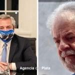 """El presidente Fernández agradeció a Lula Da Silva por su mención en un acto en Brasil: """"apoyo del presidente y el pueblo argentino"""""""