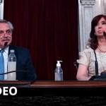 """El presidente Fernández anunció que el Gobierno impulsará una """"querella criminal"""" contra ex funcionarios macristas"""