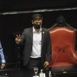 "Kicillof en la Asamblea Legislativa: ""La pandemia no mató nuestros objetivos, venimos a construir la provincia de pospandemia"""