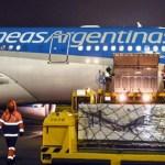 Llegó a Moscú el 8° vuelo de Aerolíneas Argentinas que traerá al país una nueva partida de la vacuna Sputnik V