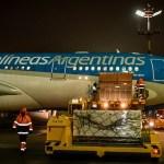Parte el 8° vuelo de Aerolíneas Argentinas a Moscú para traer más vacunas Sputnik V