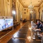 """El Presidente Fernández analizó con los gobernadores la situación epidemiológica: """"La premisa es bajar la cantidad de contagios"""""""