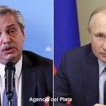 """El Presidente Fernández """"volvió a solicitar la ayuda de su par de Rusia para garantizar el envío regular de vacunas hacia la Argentina"""""""