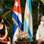 La ministra Vizzotti se reunió con el presidente de Cuba y avanzan las negociaciones para traer las vacunas Soberana02 y Abdala