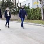 """Leo Nardini inauguró dos nuevos pavimentos en Los Polvorines: """"Sentirnos orgullosos de vivir en Malvinas Argentinas"""""""