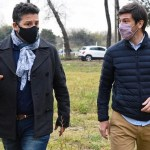 """Menéndez recibió a Thea y recorrieron obras: """"Estamos reconstruyendo la Argentina y la provincia, y los municipios son fundamentales"""""""