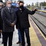 """Leo Nardini y el ministro Guerrera inauguraron la cuarta estación renovada de Malvinas Argentinas: """"Es otro sueño que se concreta"""""""