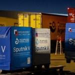 Llegaron a la Argentina 359.085 dosis del componente 1 y 350.000 del componente 2 de la vacuna Sputnik V