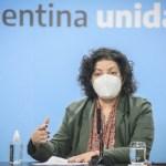 Ministra Vizzotti: La semana próxima llegarán al país más de 4 millones de vacunas