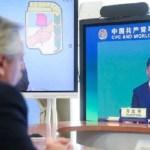 El Presidente Fernández agradeció a China la colaboración con Argentina en la pandemia