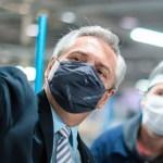 El Presidente Fernández lanzó duras críticas a la política industrial que rigió durante el gobierno de Macri
