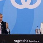 El Presidente Fernández junto a la Vicepresidenta Cristina Kirchner anunció un proyecto de ley destinado al sector agropecuario
