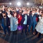 Alberto y Cristina cerraron la campaña nacional del Frente de Todos en Tecnópolis