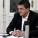 Sergio Massa: «La cabeza y el corazón del Gobierno están puestos en crecer y generar empleo»