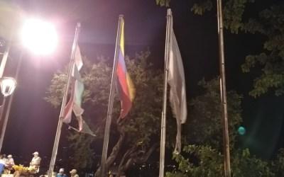 Banderas de Colombia, Valle y Cali en San Antonio, generan vergûenza