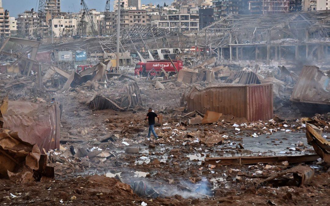 Explosión en Beirut deja 100 muertos , miles de heridos y daños cuantiosos.