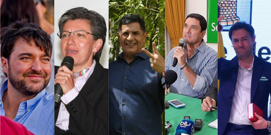 Los colombianos votan por el mejor alcalde del país.