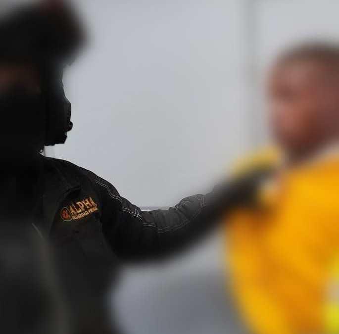 Mujer herida con arma blanca al interior de estación del MÍO