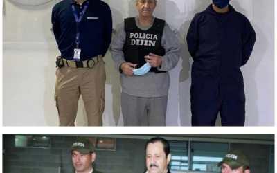 Exparamilitar Hernán Giraldo, ya esta en Colombia. La justicia lo espera