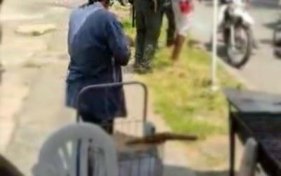 En Cali comunidad le amputa una mano a un presunto ladrón