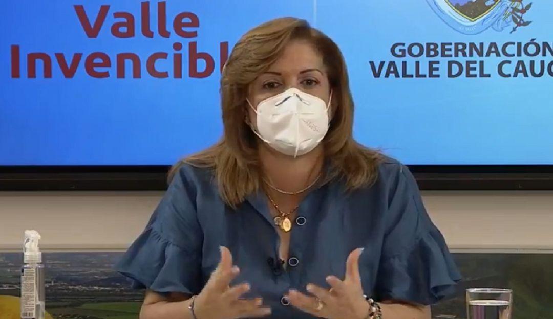 Gobernadora del Valle anuncia nuevo horario de toque para las próximas dos semanas