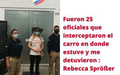 Colombia expulsa a Rebecca Spröber, la alemana que cubrió el paro nacional en Cali