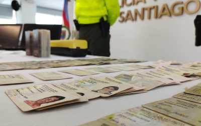 Desmantelan en Cali fabrica de cédulas falsas