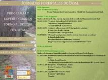 Jornadas forestales de Boal 5 de mayo