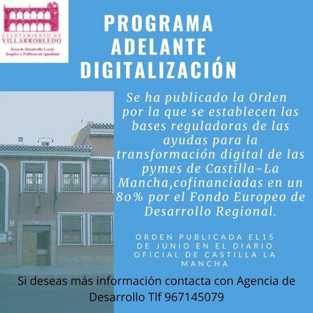 Programa Adelante Digitalización