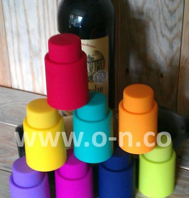 TA-VA – tapón botellas vino con bomba de vacío integrada