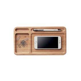 bandeja escritorio madera
