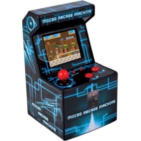 micro arcade azul