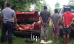 Detenido por abigeato dio nombre de los comercios que le compran
