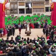 Bajada del Ángel de Peñafiel, 2016 - captar el momento